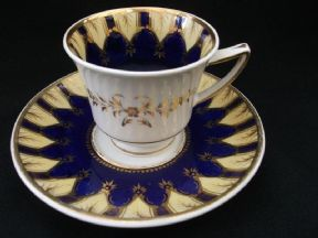 REFERENCE SET -Early H & R Daniel cup & saucer